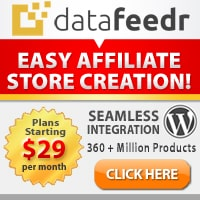 Datafeedr Easy Affiliate Store Creation