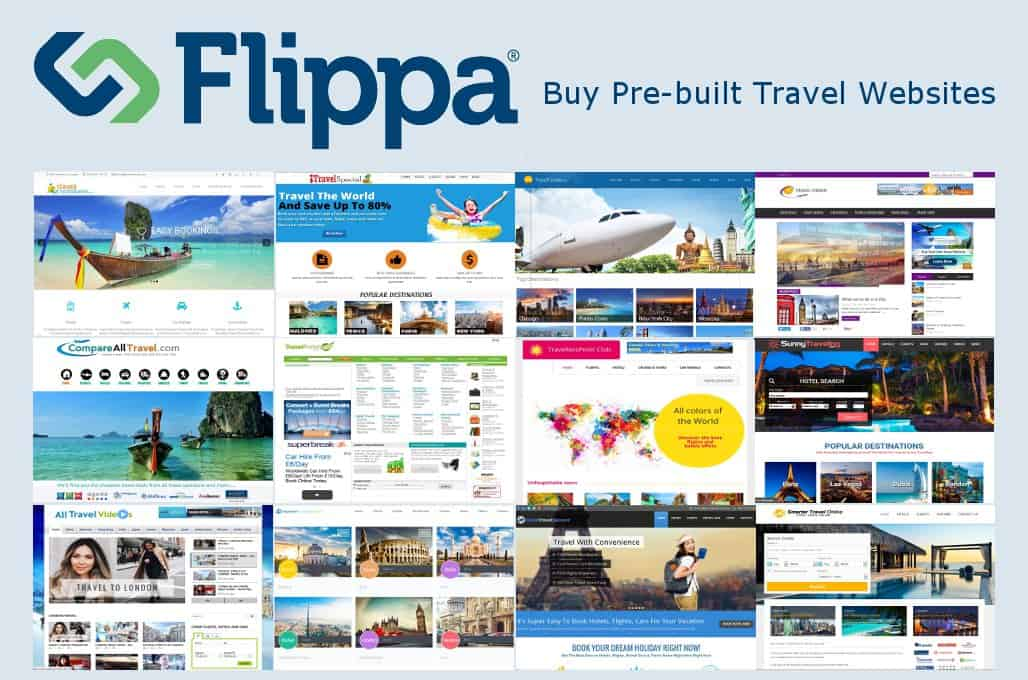 Buying a Turnkey Travel Website on Flippa.com