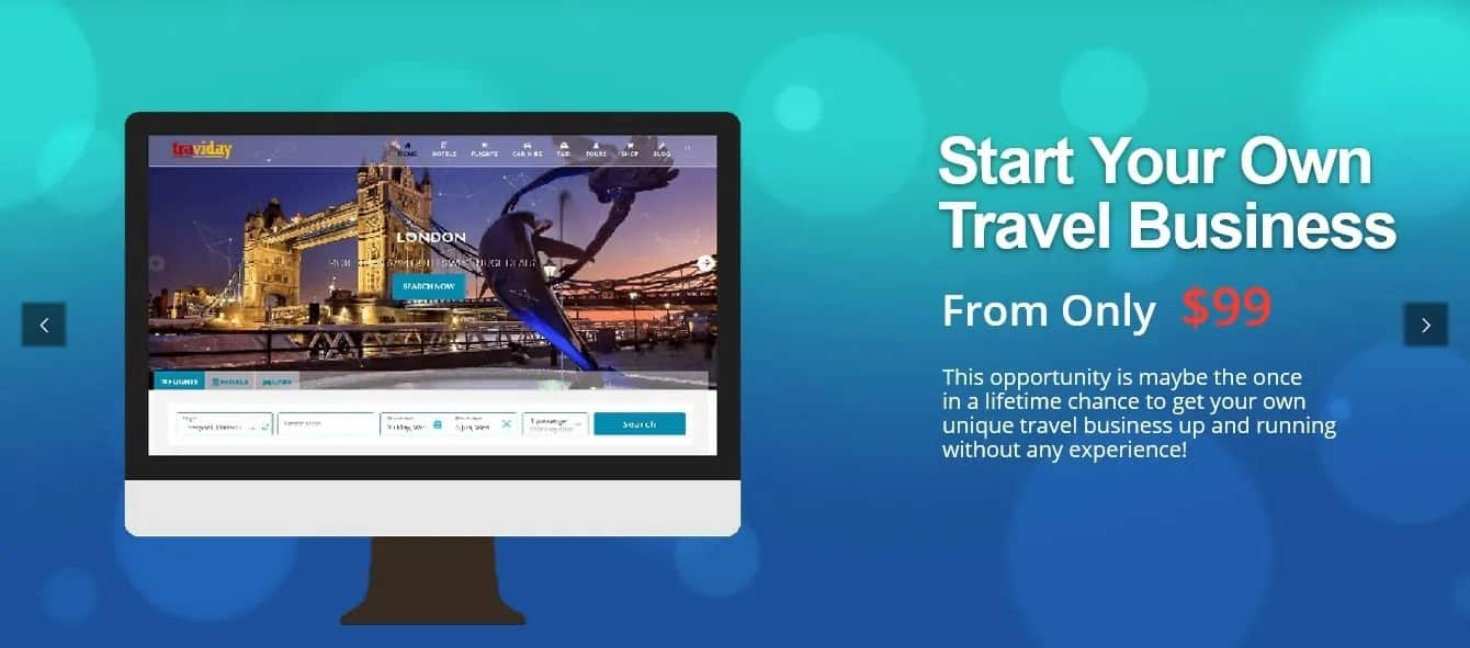 Affiliate Travel Sales Banner