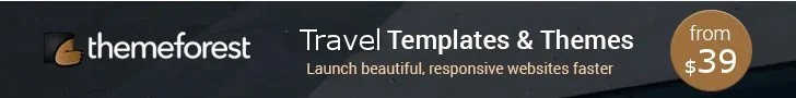 Themeforest WordPress Travel Themes